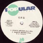 E.S.G. – Party Music / Moody (A New Mood)